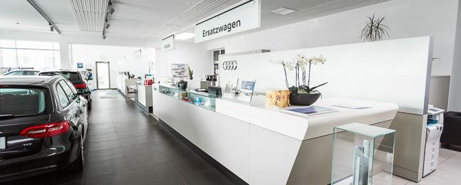 """Autohaus Weiz, Ihr Spezialist für VW, VW Nutzfahrzeuge, Audi sowie Gebrauchtfahrzeuge in der Oststeiermark. Fachwerkstätte mit optimalem Service. Ihr """"Autorundumbetreuer"""""""
